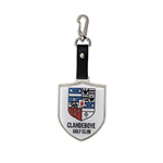 6211 Elite Shield Metal Bag Tag