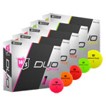 8035 Wilson Staff DUO Soft+ Optic Golf Balls